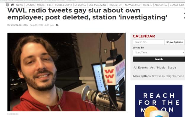 wwl tweet damages reputation